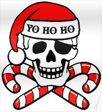 CHRISTMAS PIRATE Poster