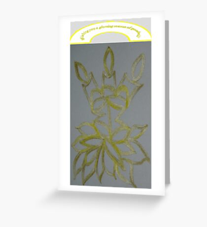 Festive Candles Greeting Card