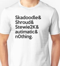 Cloud9 Team CSGO Black Unisex T-Shirt