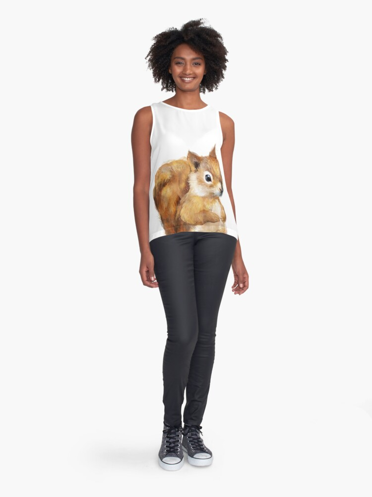 Alternate view of Little Squirrel Sleeveless Top