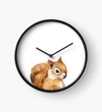 Little Squirrel Clock
