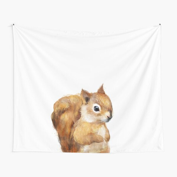 Little Squirrel Tapestry