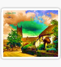 COUNTRY COTTAGES 9D-T Sticker