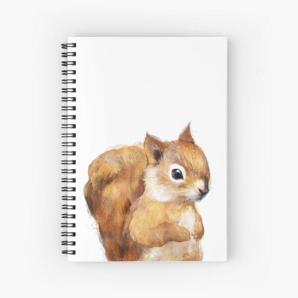 Kleines Eichhörnchen Spiralblock