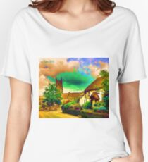 COUNTRY COTTAGES 9D-T Women's Relaxed Fit T-Shirt