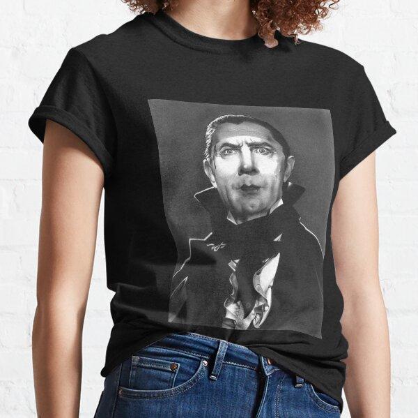 Dracula fan art inspired by Bela Lugosi, based on my original hand-drawn graphite illustration Classic T-Shirt