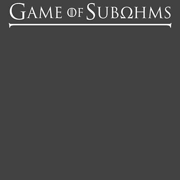 Game of Subohms White by areid89