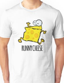 Runny Cheese Cute Funny Food Pun Unisex T-Shirt