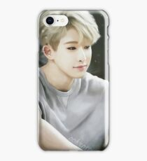 Blonde Wonho iPhone Case/Skin