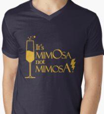 Wingardium MimOsa - Scarlet/Gold Mens V-Neck T-Shirt