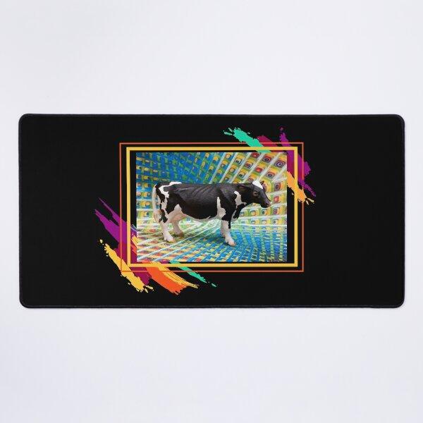 Solo Una Vaca Loca Meme Diseño Psicodélico Alfombrilla de escritorio