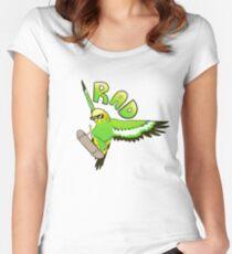 Rad Skatebirder Women's Fitted Scoop T-Shirt