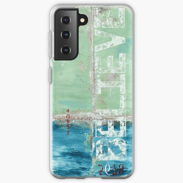 Coastal Abstraction Samsung Galaxy Soft Case