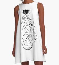 Japanese Dress A-Line Dress