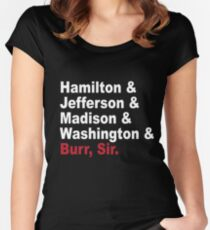 Founding Fathers & More- Hamilton Women's Fitted Scoop T-Shirt