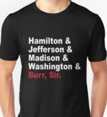 Founding Fathers & More- Hamilton T-Shirt