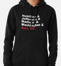 Founding Fathers & More- Hamilton Pullover Hoodie