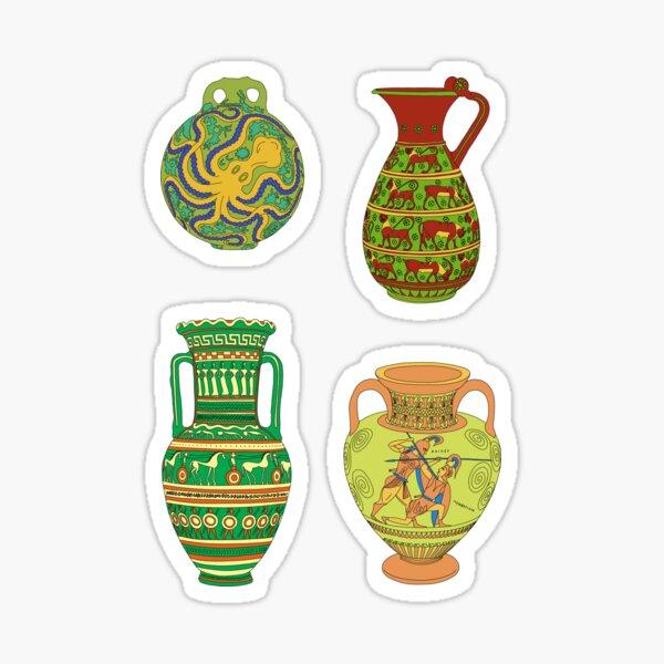 Greek Ceramics Group 2 Sheet Sticker