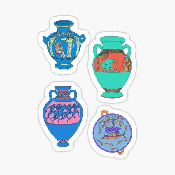 Greek Ceramics Group 3 Sheet Sticker