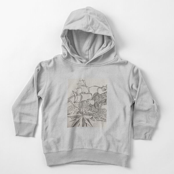 S.O.S! wreckage in a bottle Toddler Pullover Hoodie