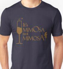 Wingardium MimOsa - Blue/Bronze Unisex T-Shirt