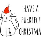 Have a Purrfect Christmas by rexannakay