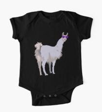 Cool Llama In Sunglasses Kids Clothes
