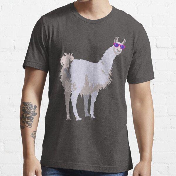 Cool Llama In Sunglasses Essential T-Shirt