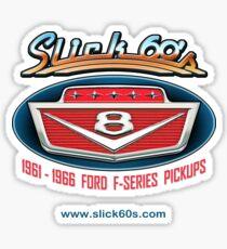 Slick 60's V8 Emblem Design Sticker