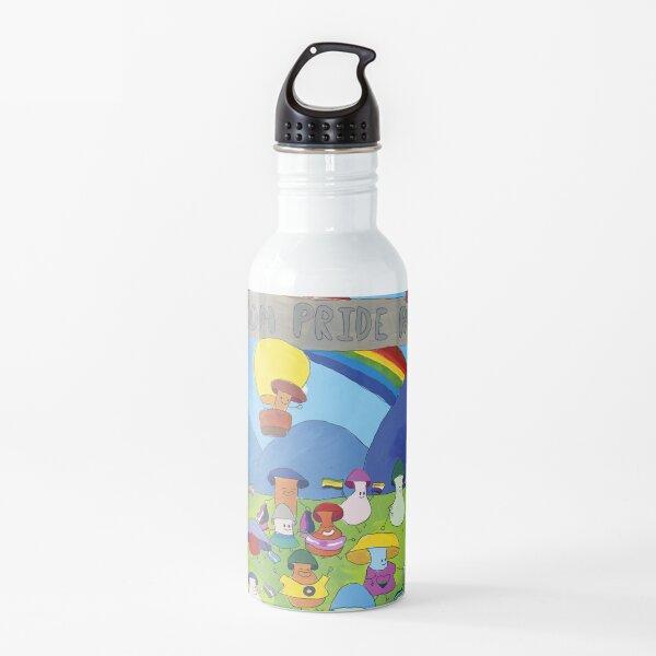 Mushroom Pride Parade Water Bottle