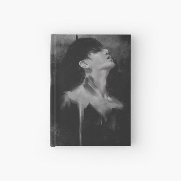 Black ink Jungkook Hardcover Journal