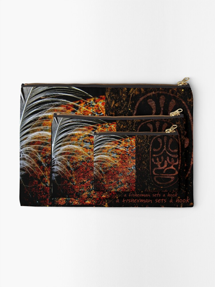 Alternate view of Sheltered Cove Zipper Pouch