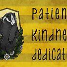 The Badger's Dedication by kiriska