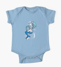 Primarina: The Majestic Water Mermaid One Piece - Short Sleeve