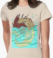 Fantasy Mermaid Surfacing (Transparent!) T-Shirt