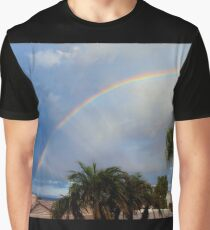 Rainbow Morning Graphic T-Shirt