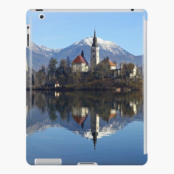 Church on island at Lake Bled Slovenia iPad Snap Case