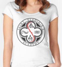 Vampire Academy - Saint Vladimir's Academy Crest Women's Fitted Scoop T-Shirt