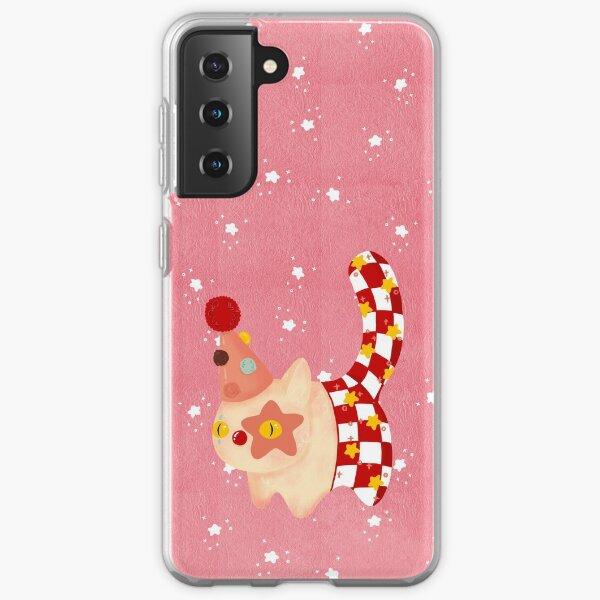 Crazy cat  Samsung Galaxy Soft Case