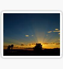 Sunray Night Sticker