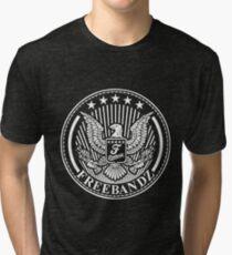 Future Freebandz - White Tri-blend T-Shirt