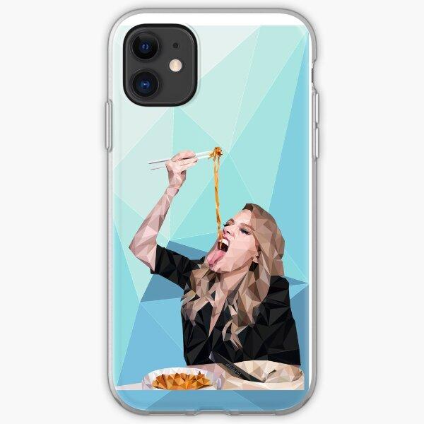 Kate McKinnon lowpoly Funda blanda para iPhone