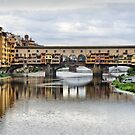 Ponte Vecchio. by Lilian Marshall