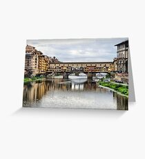 Ponte Vecchio. Greeting Card