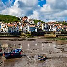 Staithes boats by Funkylikeabee