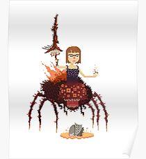 Quelaag The Spider Demon Poster