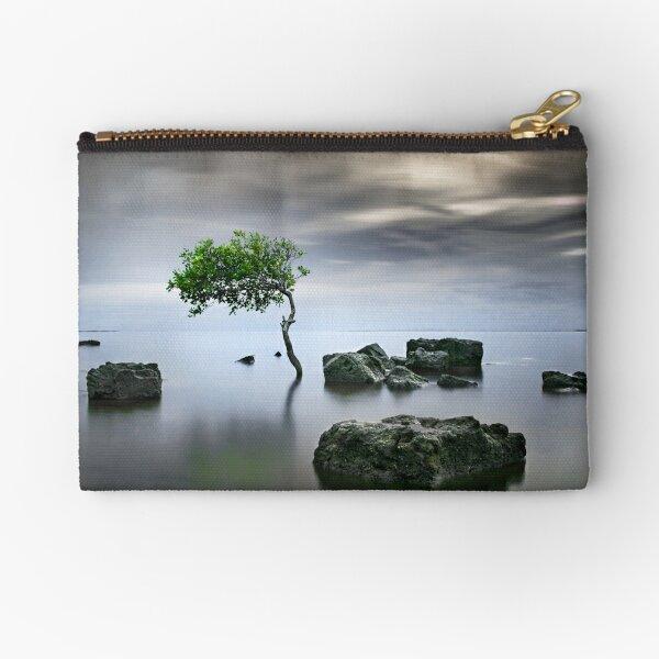 Zen Tree Zipper Pouch