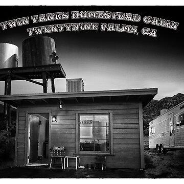 Twin Tanks Desert Homestead Cabin #2 by pberggr1