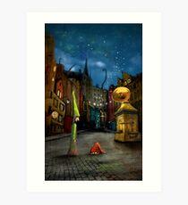 'Silent Street' Art Print