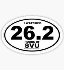 SVU Marathon Gear Sticker